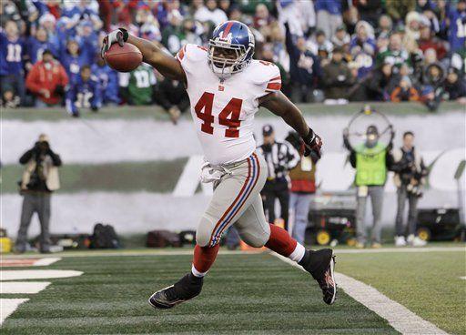 NFL: Giants 29, Jets 14; Giants ganan clásico neoyorquino