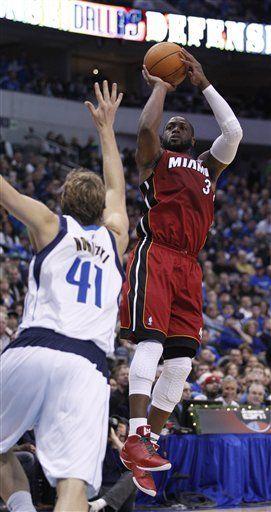 NBA: Heat 105, Mavericks 94; Miami se toma una revancha