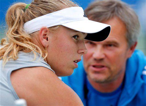 Wozniacki niega que hizo algo malo al retirarse en Luxemburgo