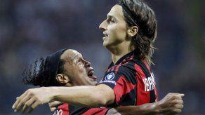 Campeones: Doblete de Ibrahimovic da la victoria al Milan