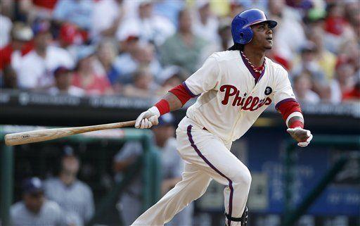MLB: Filis 8, Padres 6; Martínez pega jonrón de tres carreras