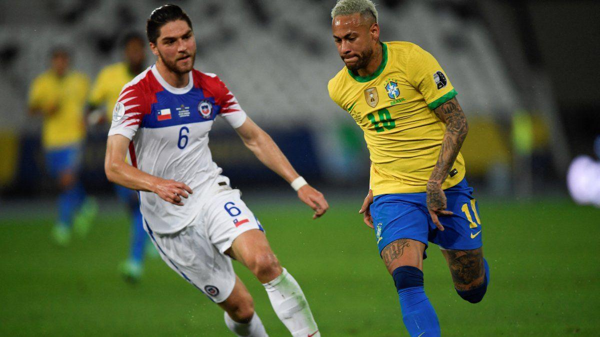 EN VIVO: Brasil 1-0 Chile en Copa América 2021