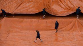 Interrumpidos por la lluvia los duelos de cuartos Nadal-Schwartzman y Cilic-Del Potro