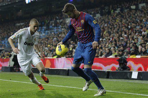 Benzema es elegido como el mejor futbolista francés de 2011