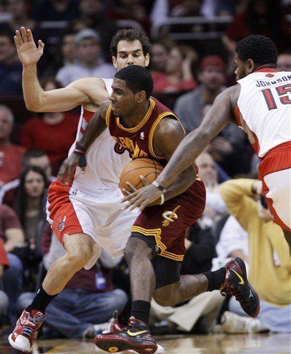 NBA: Raptors 104, Cavaliers 96; Irving no cumple expectativas