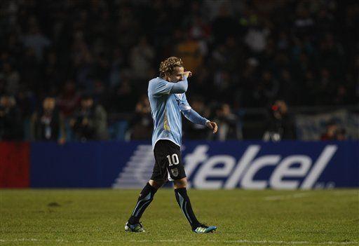 América: Forlán orgulloso con su récord de partidos en Uruguay