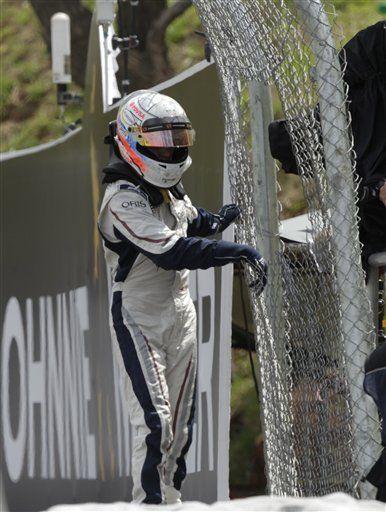 Maldonado seguirá con Williams para 2da temporada en la F1