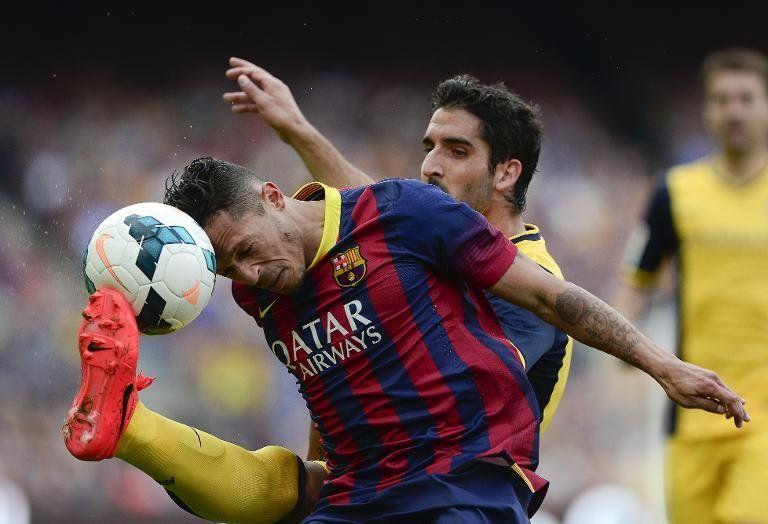 Adriano, baja con Barcelona de 4 a 6 semanas por problema cardíaco