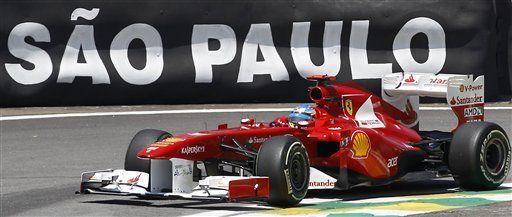 Webber es el más veloz en primera práctica de GP de Brasil
