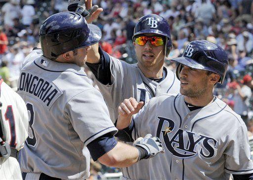 MLB: Rays 12, Mellizos 5; Longoria remolca 4