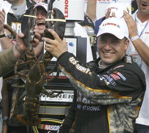 Newman supera a Stewart en carrera de NASCAR en Nueva Hampshire