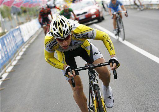 Giro: Brutt gana 5ta etapa; colombiano Laverde Jiménez 3ro