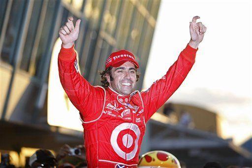 Franchitti gana campeonato de la IRL en su regreso