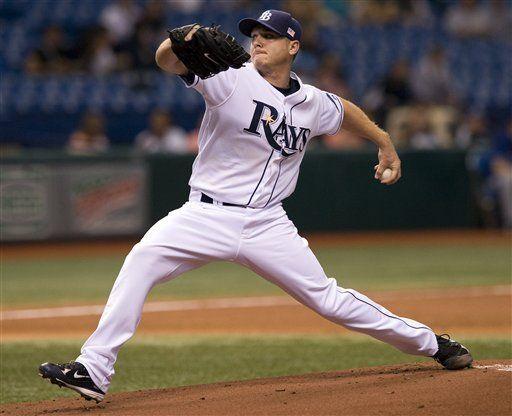 MLB: Rays 7, Rangers 3