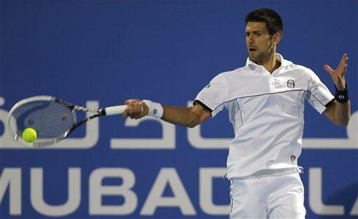 Djokovic y Ferrer ganan en exhibición de Abu Dabi