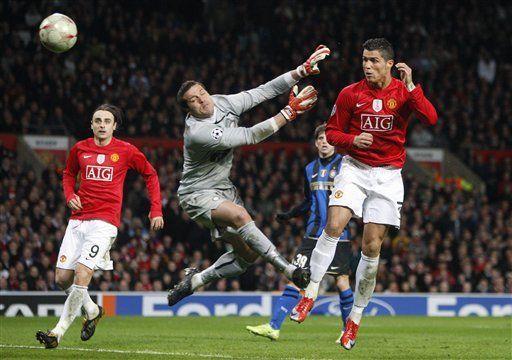 Campeones: Man United elimina al Inter de Mourinho