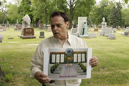 Preparan cementerio para aficionados de los Cachorros