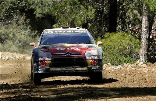 Loeb amplía su ventaja en Rally de Chipre