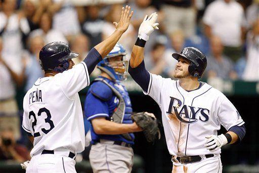 MLB: Rays 9, Reales 2; jonrón de Longoria