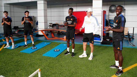 Camavinga está preparado para jugar con el Real Madrid