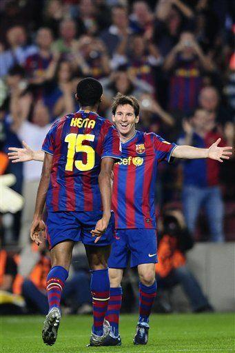 Messi dice que revés del Real Madrid es toque de alerta