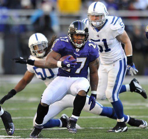NFL: Ravens 24, Colts 10; Indianápolis sigue sin ganar