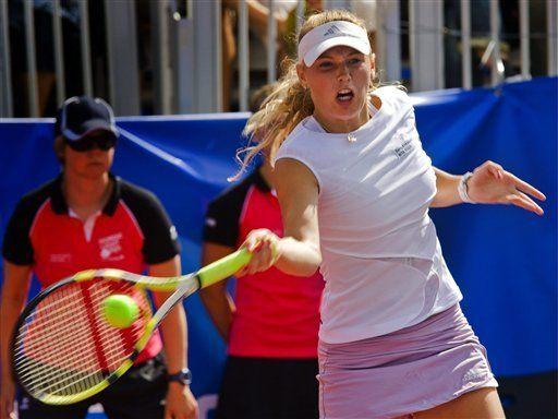 Wozniacki conquista Abierto de Estocolmo, su 1er título