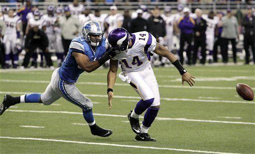 NFL: Lions 34, Vikings 28; Detroit preserva triunfo en el final