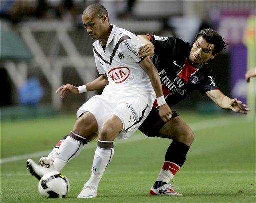 París Saint-Germain vence a Burdeos por 1-0 en fútbol francés