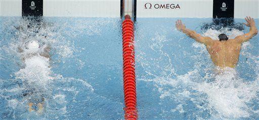 Phelps emula a Spitz y Brasil vibra con Cielo
