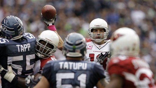 NFL: Cardinals 27, Seahawks 3; Warner lanza para 276 yardas