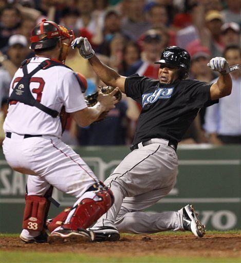 MLB: Medias Rojas 3, Azulejos 2; gran tiro de McDonald