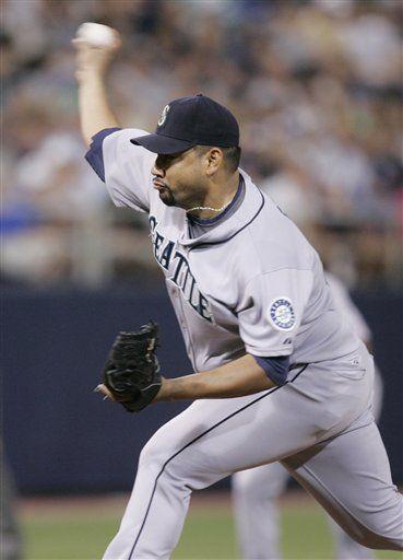 MLB: Carlos Silva a lista de lesionados de Marineros