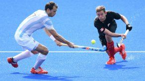Argentina bate a Canadá 3-1 en hockey sobre césped masculino