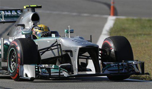 F1: Hamilton domina 1ra práctica de GP de Corea