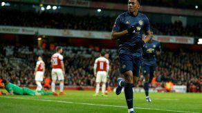 Manchester United elimina al Arsenal en cuarta ronda de Copa inglesa