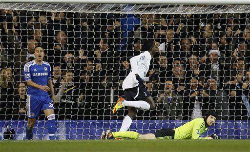 Tottenham empata con Chelsea y sigue tercero en liga Premier