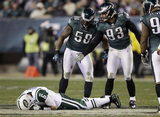 NFL: Eagles 45, Jets 19; Filadelfia sigue vivo
