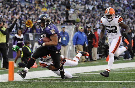 NFL: Ravens 20, Browns 14; Flacco lanza dos pases de anotación