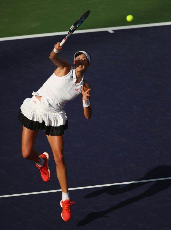 La española Muguruza avanza a tercera ronda de Indian Wells