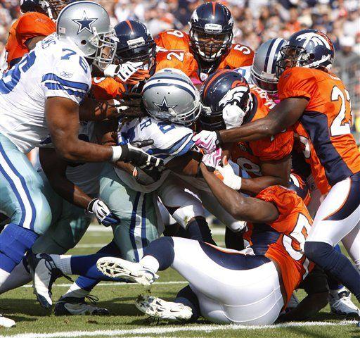 NFL: Broncos 17, Cowboys 10; Bailey evita posible empate agónico