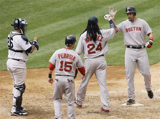 Estrellas de los Medias Rojas listas para invadir Yankee Stadium