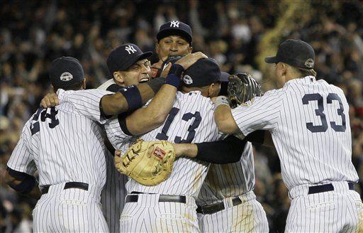 MLB: Yanquis vencen 5-2 a los Angelinos y avanzan a Serie Mundial