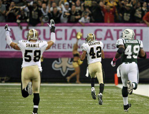 NFL: Saints 24, Jets 10; Nueva Orleáns sigue invicto