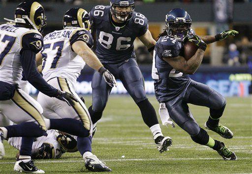 NFL: Seahawks 30, Rams 13; Brilla el novato Baldwin