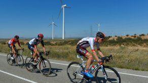 El belga Wallays gana la etapa 18 de la Vuelta
