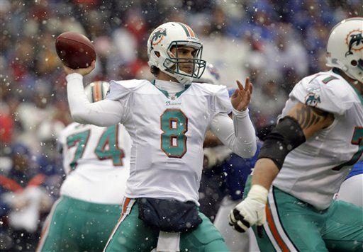 NFL: Dolphins 30, Bills 23; 203 yardas de Bush para Miami