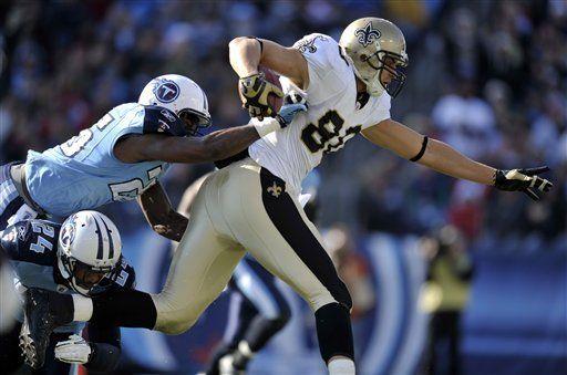 NFL: Saints 22, Titans 17; Nueva Orleáns sigue de racha
