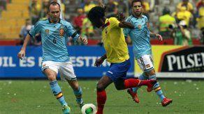 España derrota 2-0 a Ecuador en amistoso