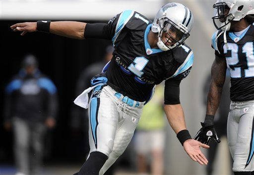 Newton rompe récord de Manning de yardas por aire para un novato